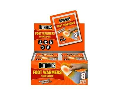 & Hot Hands Foot Warmers HotHands Packs Protects Cold Winter Heat 40 pairs 17:21