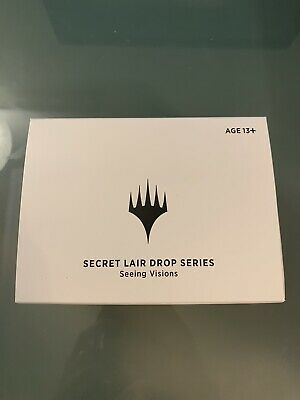 Seeing Visions MTG Secret Lair Stained Glass Sealed Box Planeswalker and Codes!