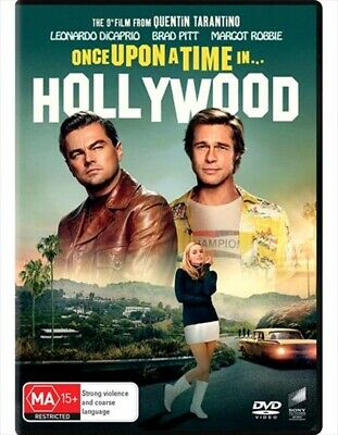 Once Upon a Time in Hollywood (2019, DVD) NEW & SEALED Genuine Aussie Release