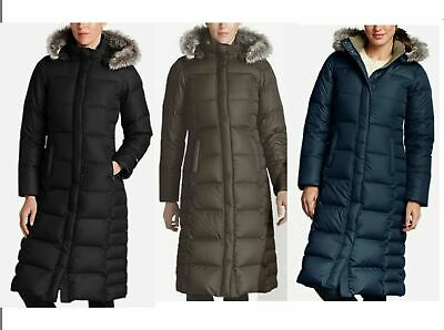 NWT Eddie Bauer 18 Womens Lodge Down Duffle Coat Parka 5 Colors Available $349