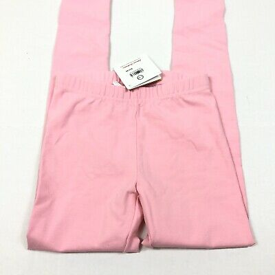 Hanna Andersson Girl's Pink Cotton Leggings Size US 8 NEW
