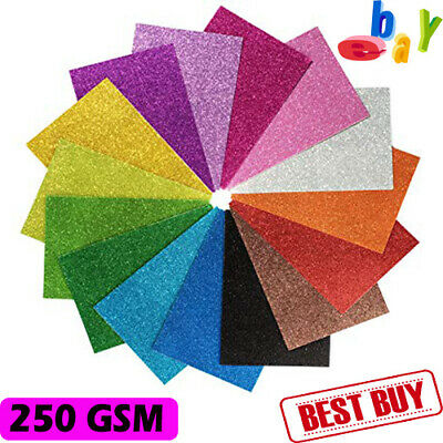 30XA4 Glitter, Sparkly,CARD Low Shed 250 grms Card Arts Crafts Gifts Card Making