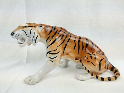 "VINTAGE - USSR - Large Imperial Lomonosov Tiger - 10.5"" Length - 700g"