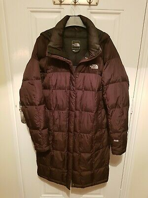 Ladies The North Face Down Coat Size L/G