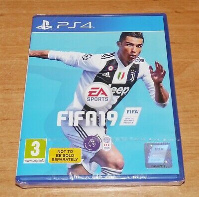 Brand new & Sealed Fifa 19 Game for Sony PS4 Playstation 4
