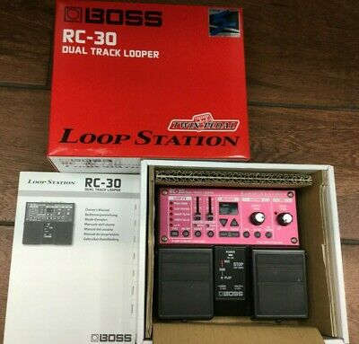 Boss (Rc-30) Dual Track Looper - Twin Pedal Loop Station