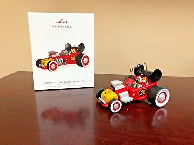 2018 Hallmark Ornament Mickey and the Roadster Racers   Disney Junior