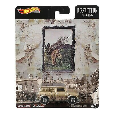 Hot Wheels 2020 Pop Culture Led - Zeppelin '67 Austin Mini Van #4/5