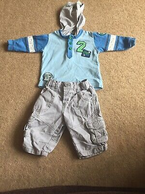 Baby Boy M&S 2-piece Outfit - Age Up To 3 Months