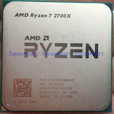 AMD RYZEN 7 2700X 8-Core 3.2 GHz 4.1 GHz Max Socket AM4 65W Desktop Processor