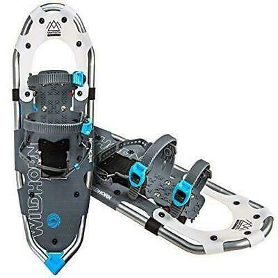 WildHorn Outfitters Sawtooth Snowshoes for Men and Women. Fully Adjustable Bindi