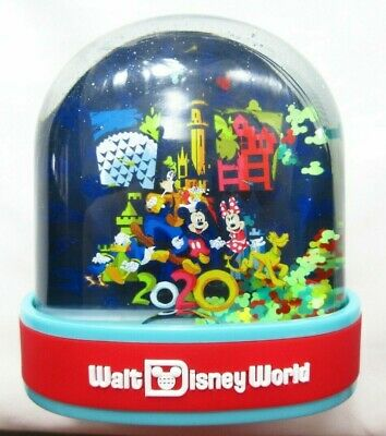 Walt Disney World Parks Dated 2020 Mickey Mouse and Pals Plastic Snow Globe NEW