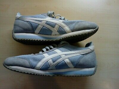 Ladies Onitsuka Tiger Powder Blue Running Trainers Size UK 8 US 10