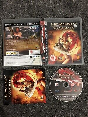 Playstation 3 Game - Heavenly Sword (Excellent Complete Condition) PS3 UK PAL