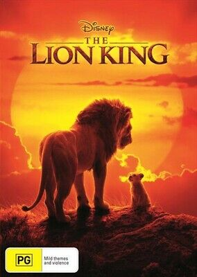 The Lion King (2019, DVD) NEW AND SEALED Genuine Aussie Release Region 4