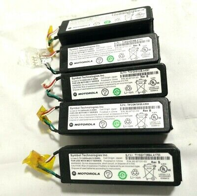 **Lot Of 5**  Motorola Symbol Mc17 Handheld Scanner Battery 82-97131-03