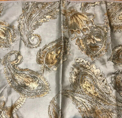 NEW Chaps Cold Spring 4PC Comforter Set Grey Paisley  Queen