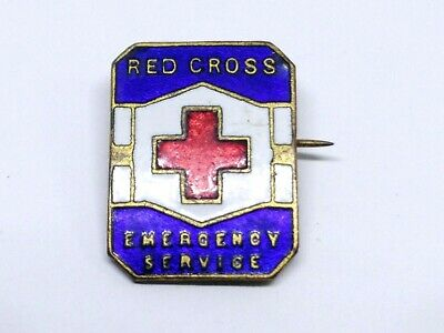 Emergency Service Red Cross  Badge / Pin Schlank Adelaide