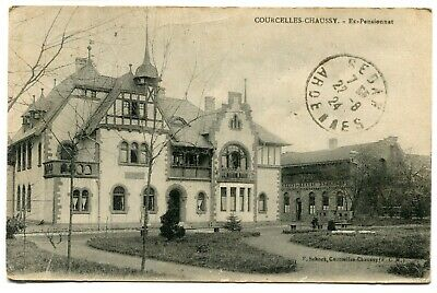 CPA - Carte Postale - France - Courcelles Chaussy - Ex Pensionnat - 1924 ( I1078