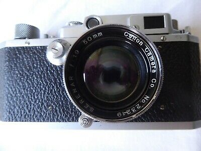 appareil photo argentique canon II B made in occupied japan