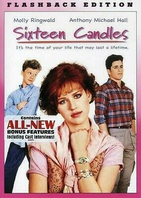 Sixteen Candles Flashback Edition (Bilingual) - DVD (2008) NEW SEALED