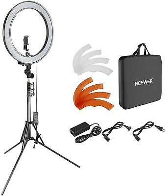 LED Ring Light Lighting Kit With 79-inch Stand for Camera Portrait Make Up