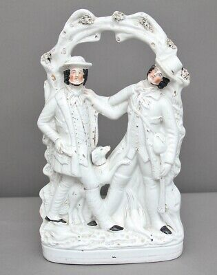 19th Century Staffordshire figure of the murder of Thomas Smith