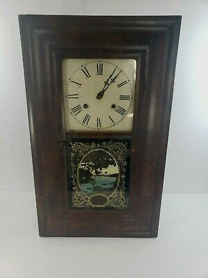 1840's Antique Clock -JEROME & CO. NEW HAVEN CONN. Ogee Clock