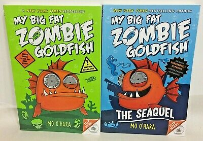 My Big Fat Zombie Goldfish lot of 2 books new paperback set by MO O'hara Seaquel