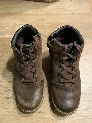 Lovely Boys Brown Timberland Leather And Suede boots UK size 1.5