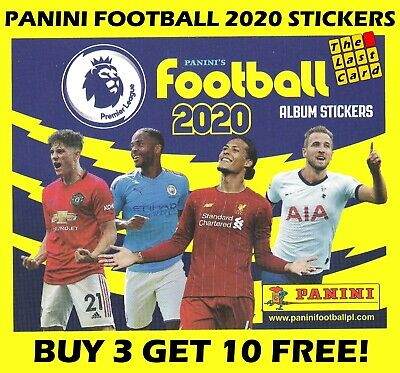 Panini Football 2020 Premier League Sticker Collection 255-346 Buy 3 Get 10 Free