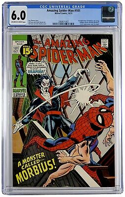 Amazing Spider-Man #101 Cgc 6.0 1St Morbius Movie 2020