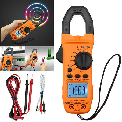 6000counts Digital Clamp Meter Multimeter Auto-Ranging Tester AC DC Current USA