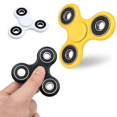 HAND SPINNER TRI FIDGET SPINNER BALL DESK TOY ADHD STOCKING STFR KID OR ADULT