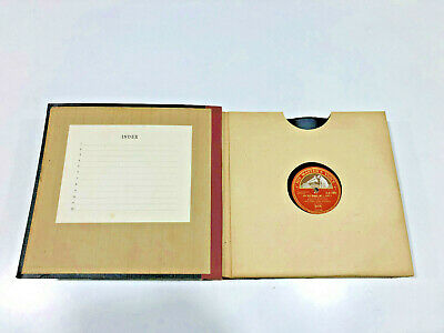 Vintage Record Album with 12 x (78 speed) Records - VGC & Collectable