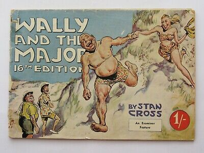 Wally and the Major 16th Edition Collectible Australiana 1950's Comic Book