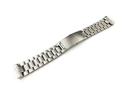 Stainless Steel Strap Bracelet compatible with OMEGA SeaMaster Watch 20 22mm