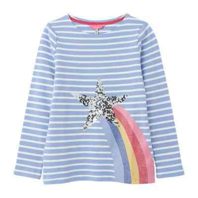 Joules Christmas Star Top / Harbour Luxe Shooting Star Girls Junior BNWT