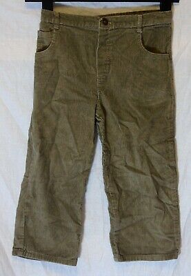 Boys Cherokee Light Brown Cord Relaxed Fit Warm Trouser Jeans Age 4-5 Years