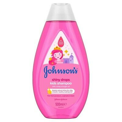 Johnsons Baby Shiny Drops Shampoo 500ml