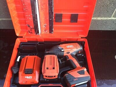 Hilti SIW 22-A Impact Driver with 2 batterys and charger