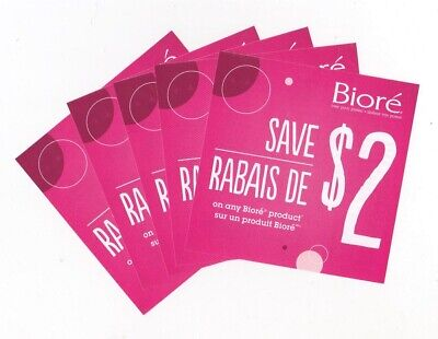 10x Save $2.00 on Biore Skin Care Products June 2020 Coups (Canada)