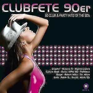 Clubfete 90er - 60 Club & Party Hits of the 90s (3 CDs)