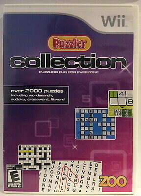 Puzzler Collection (Nintendo, Wii Wii U) Complete Cib Tested
