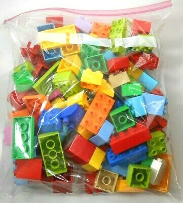 Lego Duplo Bricks Lot of 100 Various Colors Now More Types of Blocks (appr. 2#)
