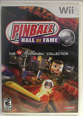 Pinball Hall of Fame: The Williams Collection (Nintendo Wii, Wii U 2008) TESTED
