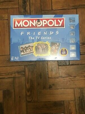 Brand New Sealed Monopoly Friends The Tv Series Board Game Free Trumps Card
