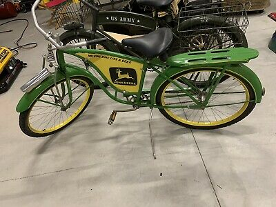 "Vintage 26"" Boys John Deere Bicycle"