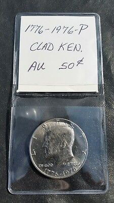 1976 D John Kennedy Half Dollar With 2x2 Case from Mint Set Combined Shipping