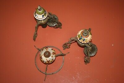 Antique Light Fitting. 3 sets.
